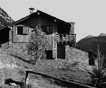 Bruno Villa in Verrand, Courmayeur