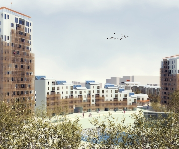 Milano-2: new urban spaces for pubblic housing developement