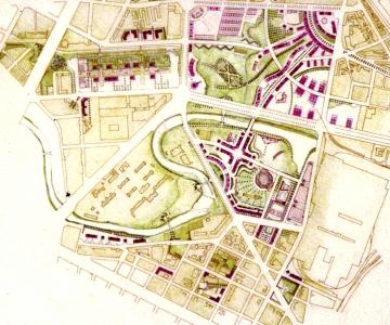 Progetto per un'area a nord di Torino (Spina 3)