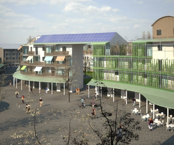 Figino: The Sustainable Village (MI), social housing
