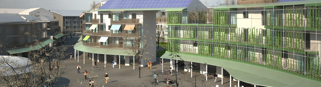Figino: The Sustainable Village (MI), social housing