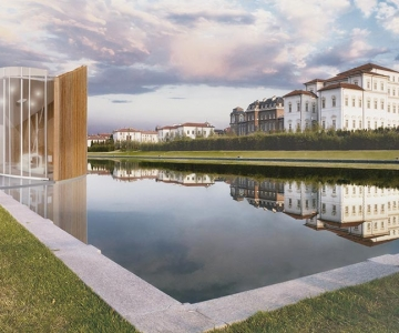"New pavillon for ""Peota"", in the monumental complex of Venaria Reale"