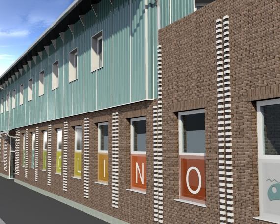"New Nursery School In Turin – Monfalcone Street ""IL PESCIOLINO"""
