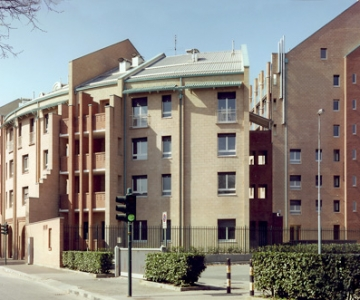A residential building in Corso Francia